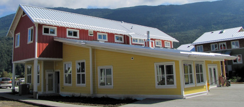 The Common House at Groundswell Cohousing